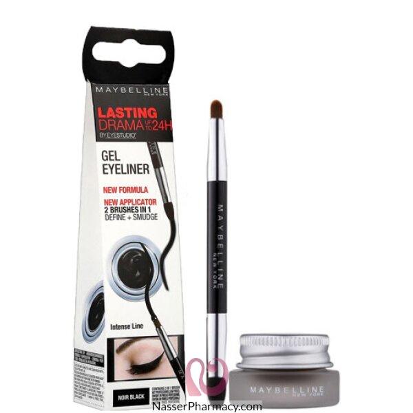 Maybelline New York Eye Studio Lasting Drama Gel Eyeliner, Black