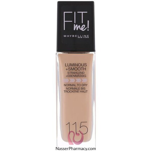Maybelline New York Fit Me Foundation 115 Ivory