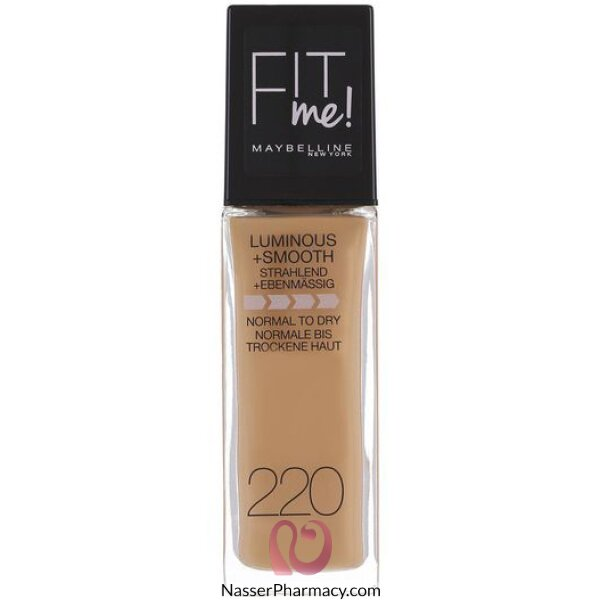 Maybelline New York Fit Me Foundation  220 Natural Beige