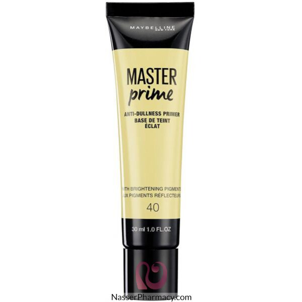 Maybelline New York Master Prime Foundation Primer 40 Anti Dullness