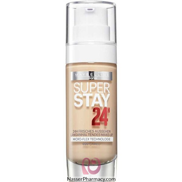 Maybelline Superstay 24hr Foundation - Cameo 20