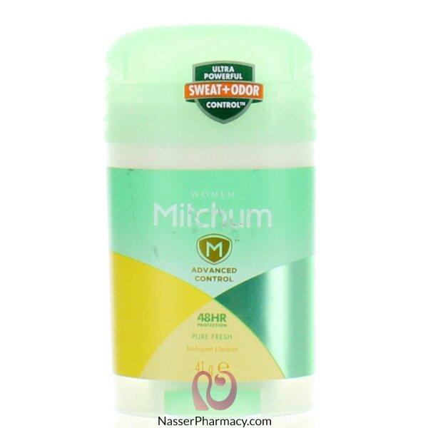 ميتشم Mitchum Pure Fresh  ستيك مزيل عرق نسائى 41 جرام