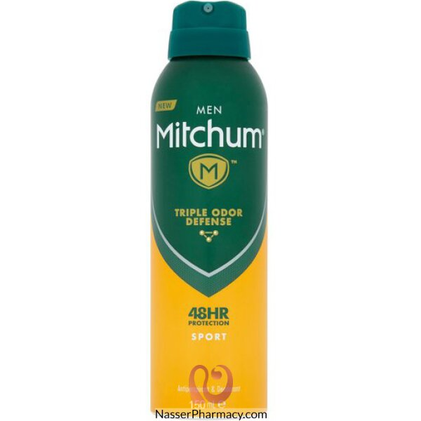 Mitchum Sport Anti-perspirant & Deodorant Spray (150ml)
