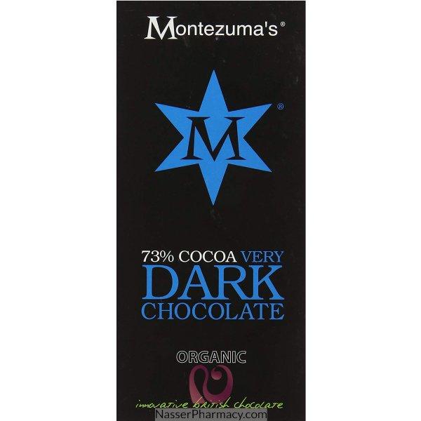 Montez Org 73% Dark Choc 100g Bar