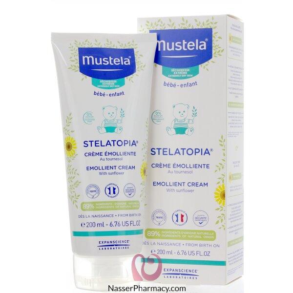 موستيلا ستيلاتوبيا Mustela Stelatopia  كريم ملطف 200 ملل