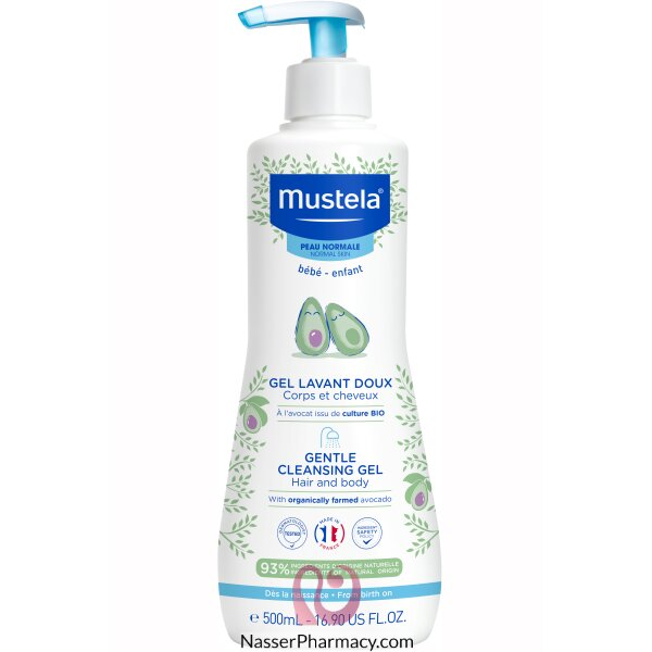 Mustela Baby Dermo Cleansing 500 Ml