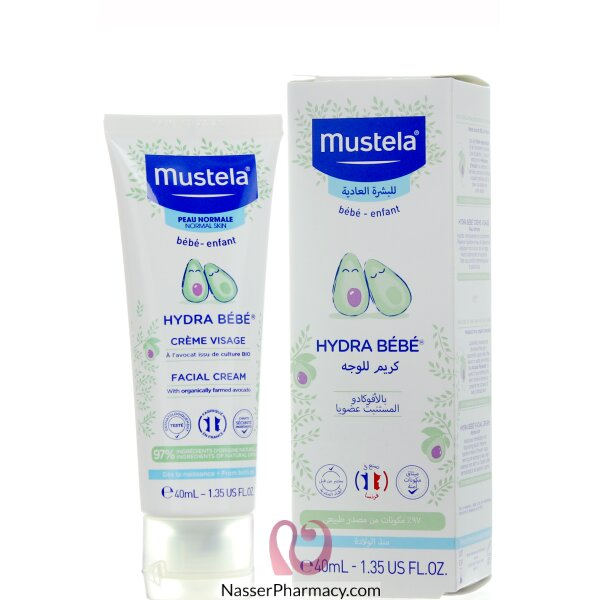 Mustela Baby Facial Cream 40 Ml
