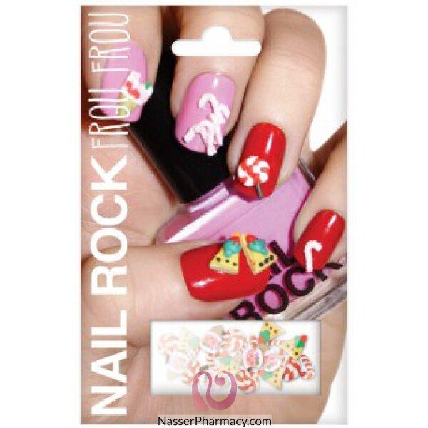 بيوتي روك Beauty Rock لاصقات أظافر  Thanks Giving-nrff002