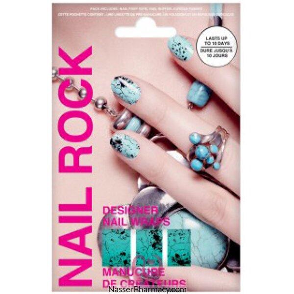Beauty Rock  Nail Wraps-aw Quail-nr097