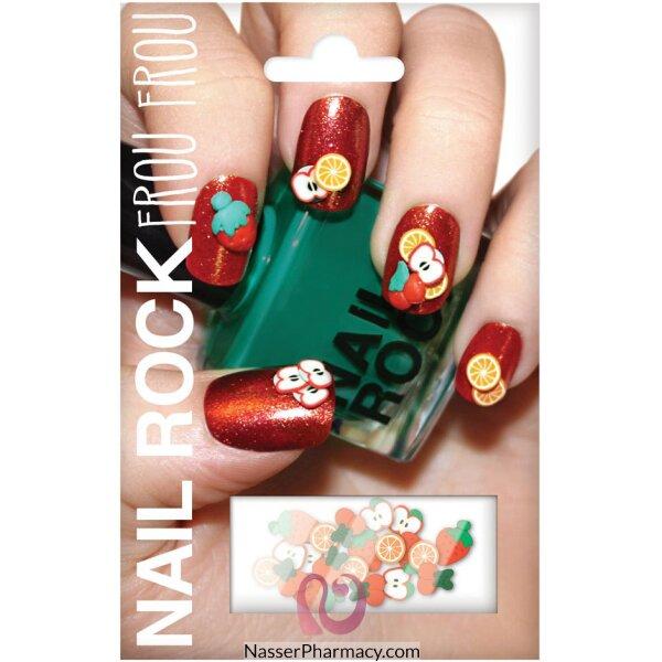 Beauty Rock Nail Wraps-fruit Burst-nrff001