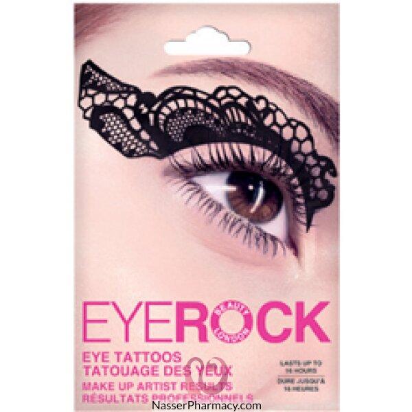 Eye Rock Eye DÉcor-tattoos - Blacklace-ert003