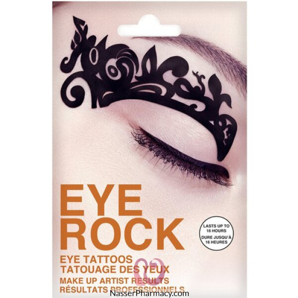 Eye Rock  Eye DÉcor-tattoos - Silhouette-ert006