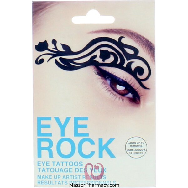 Eye Rock Eye DÉcor-tattoos - Tulip-ert005