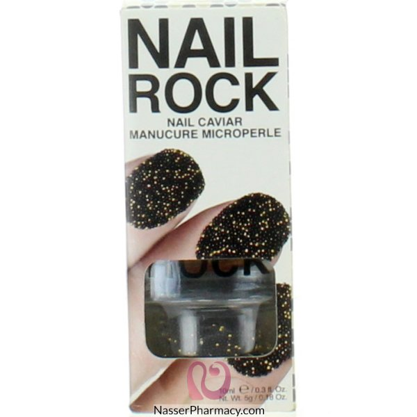 Rb Nail Wraps-jupiter-blk &gold-nc005