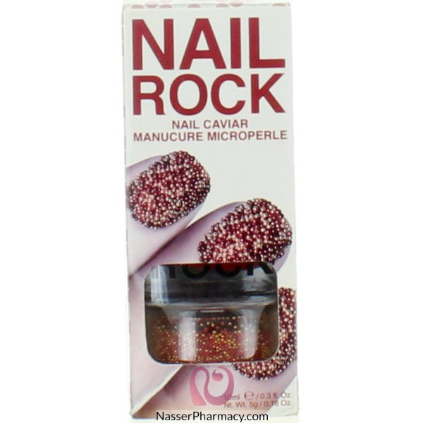 Rb Nail Wraps-mars (red &gold)-nc004