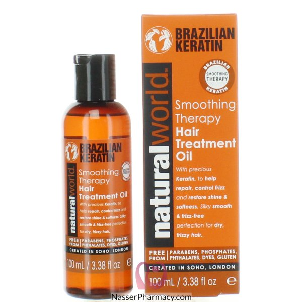 Nat World H/oil  Braz Keratin 100ml-61276