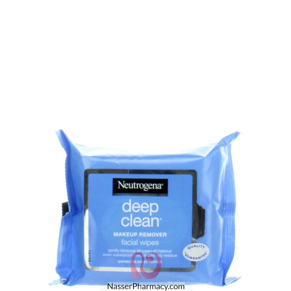 Neutrogena Deep Clean Make-up Remover Wipes 25's