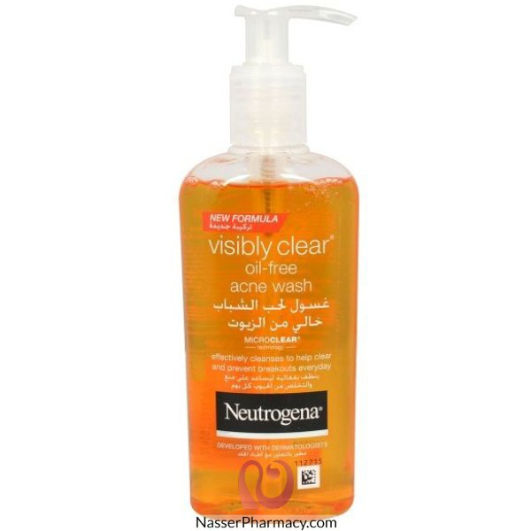 Neutrogena Oil-free Acne Wash Facial Cleanser 6oz
