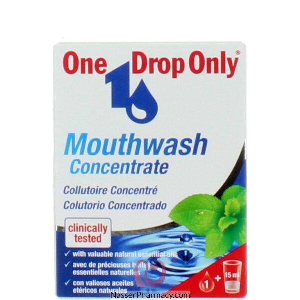 غسول الفم One Drop تركيبة مركزة لفم نظيف 25 مل