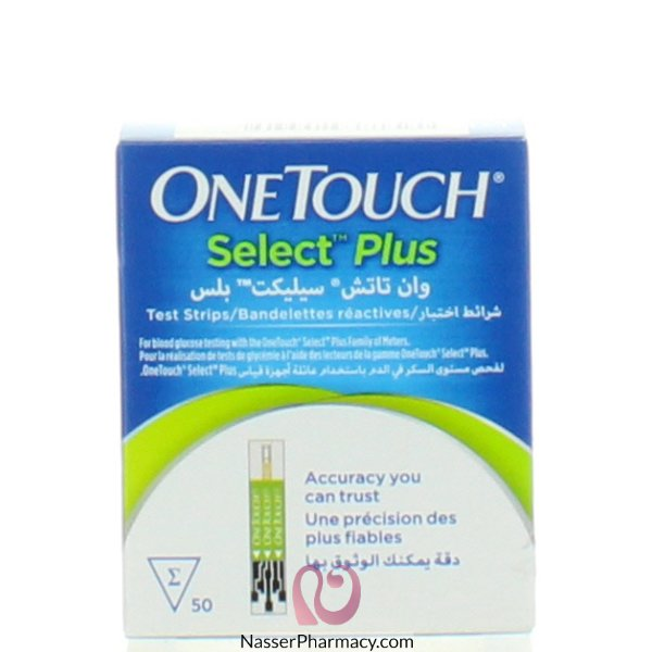 One Touch Select Plus Strips 50 S