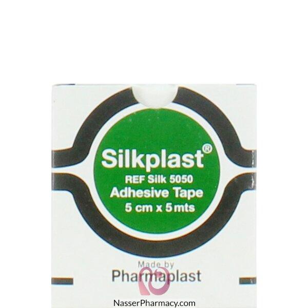 سيلك بلاست Silkplast  شريط طبي لاصق  5x500 سم