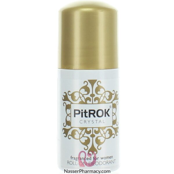 Pitrok Crystal Roll On Deo For Women 50ml-prrow6