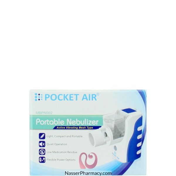 Pocket Air Portable Nebulizer Mbpn002