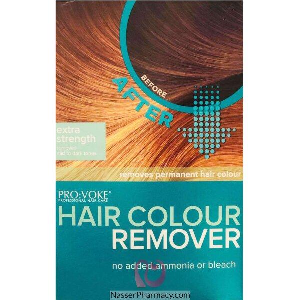 بروفوك Provoke مزيل صبغة الشعر لدرجات اللون المتوسط إلى الداكن