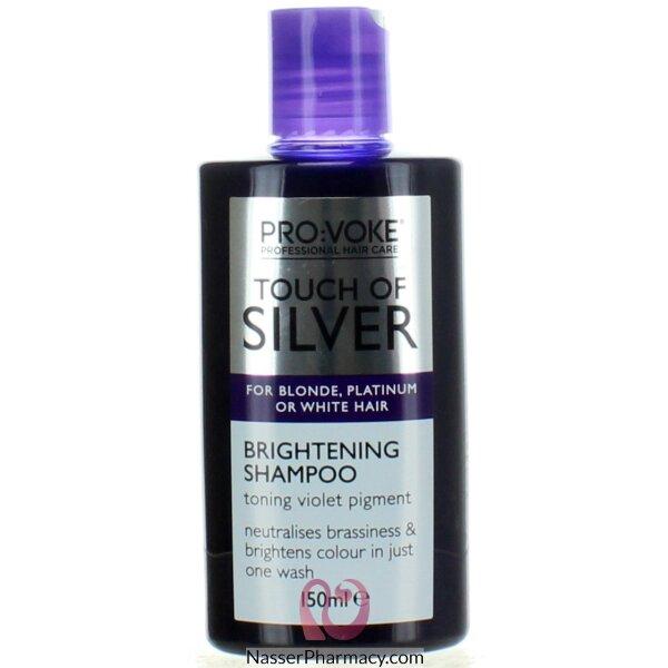 تاتش اوف سيلفر Touch Of Silver Silver شامبو للشعر الأبيض والرمادي 150 مل