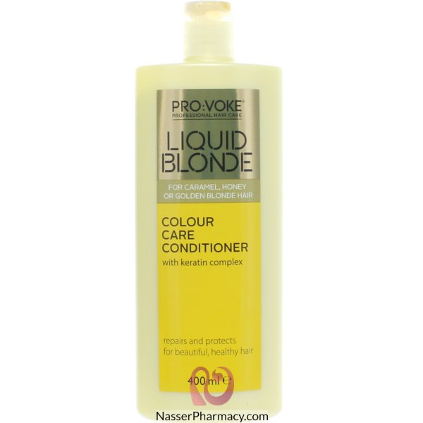 Provoke Condi Liquid Blonde Col Care 400ml-61129
