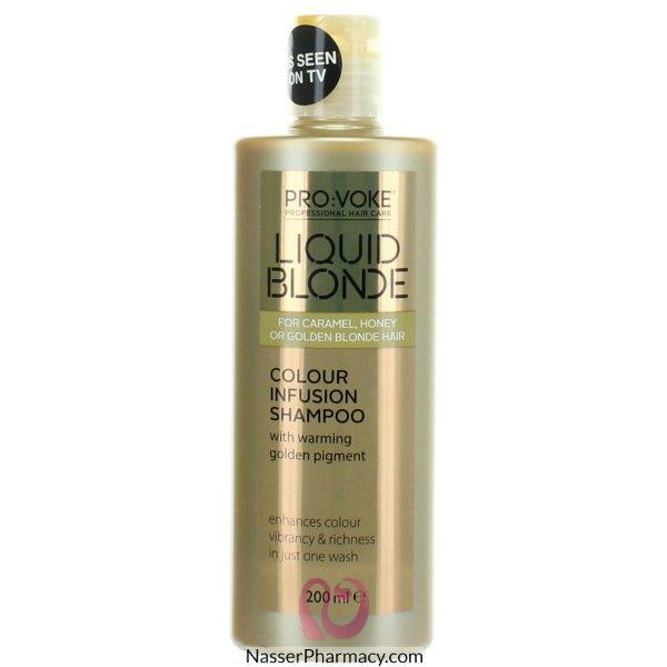 Provoke Liquid Blonde Activating Shamp 200ml-61132