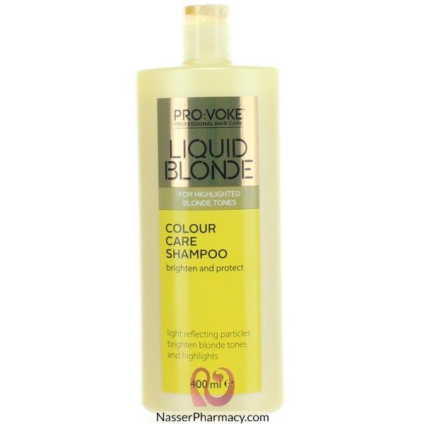 Provoke Liquid Blonde Colour Care Shamp 400ml-6113