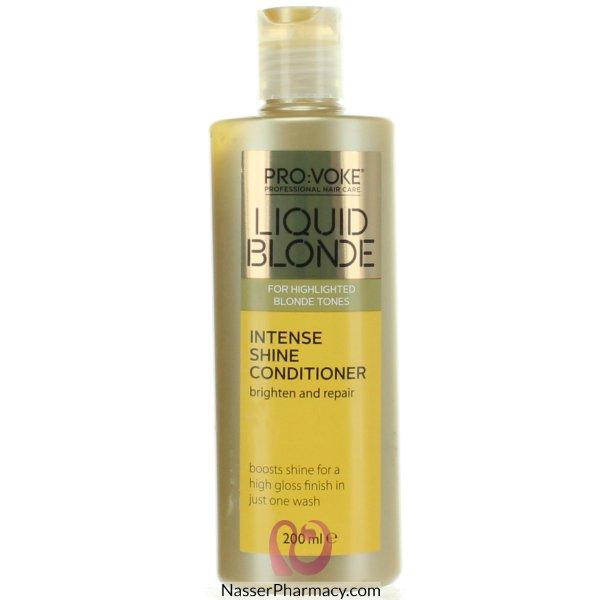 Provoke Liquid Blonde Intense Shine Cond 200ml-611