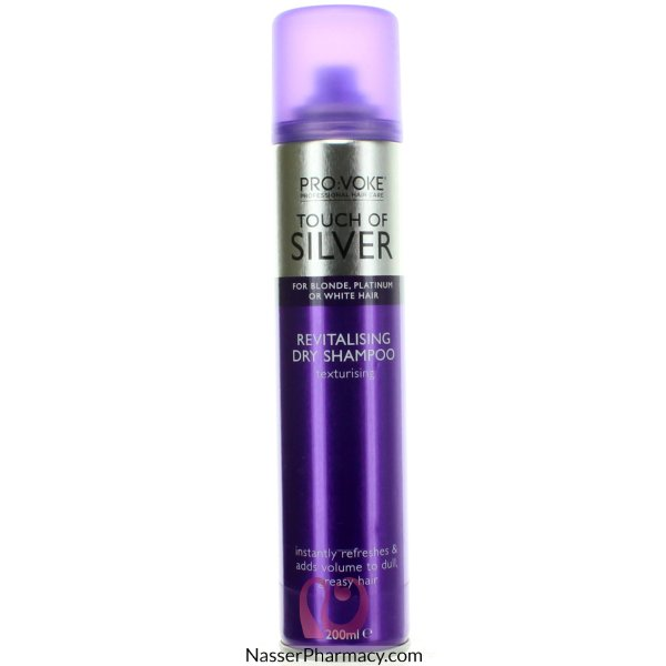 Touch Of Silver Revit Dry Shamp 200ml-47439