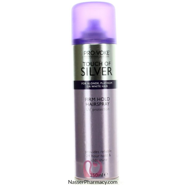 Touch Of Silver Ultra Firm Hairspray 250ml-40732