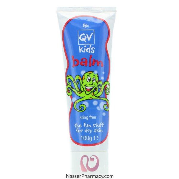 كيو في Qv  مرطب للأطفال للجلد الجاف بلسم - 100جم