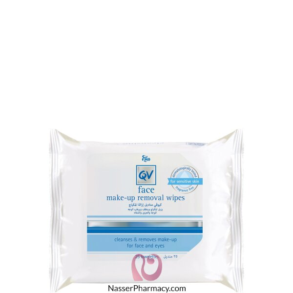 Qv Face Make-up Removal Wipes 25s