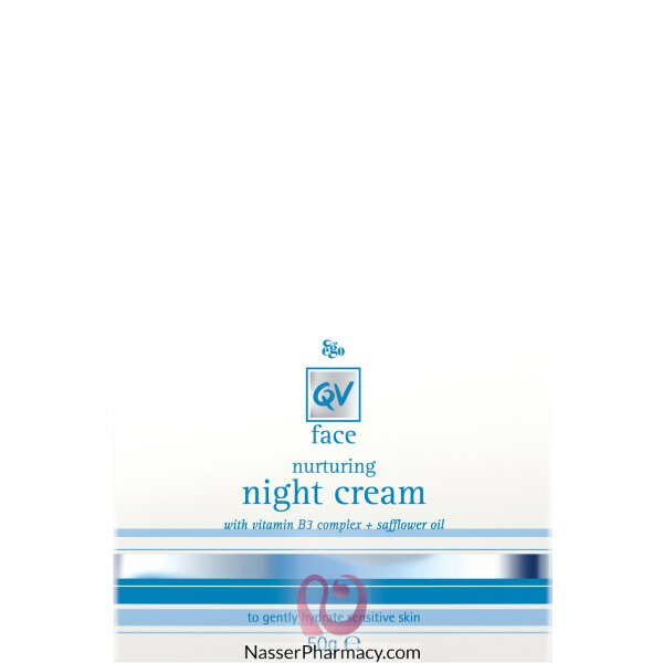 Qv Face Night Cream - 50 Gm