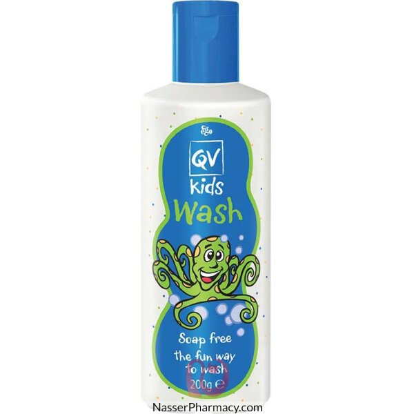 Qv Kids Wash Soap Free -  200 Ml