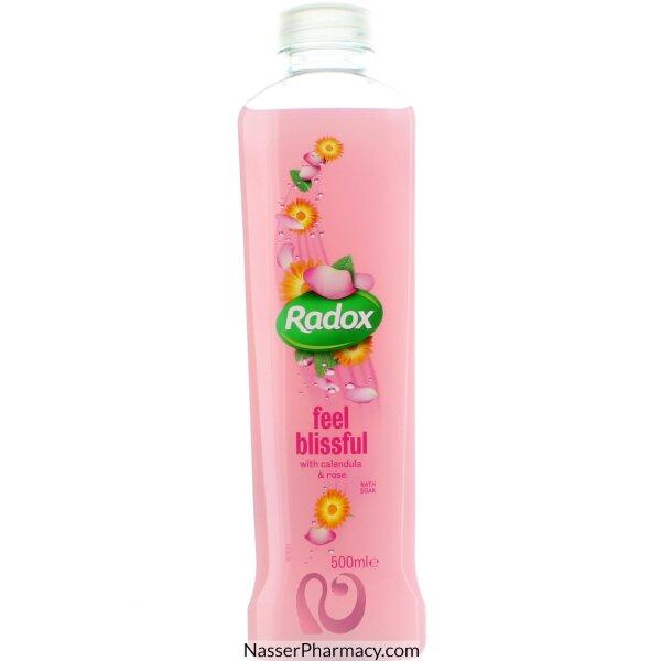 رادوكس Feel Blissful سائل استحمام مرطب بعشبة الأذريون والورد  500 مل