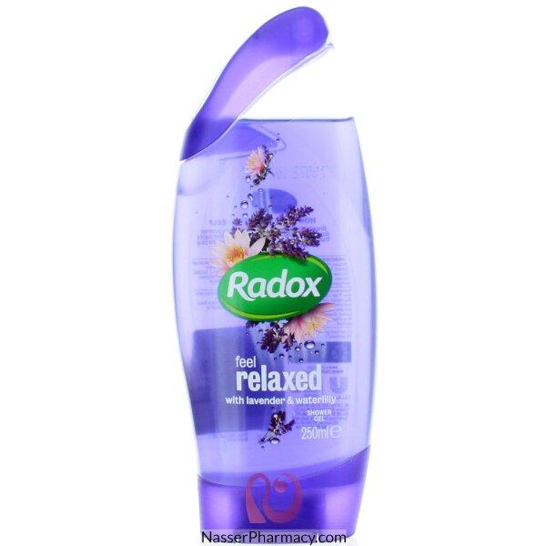 رادوكس Feel Relaxed جل استحمام  باللافندر وزنبق الماء 250 مل
