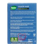 Radox Salts Muscle Soak 400g