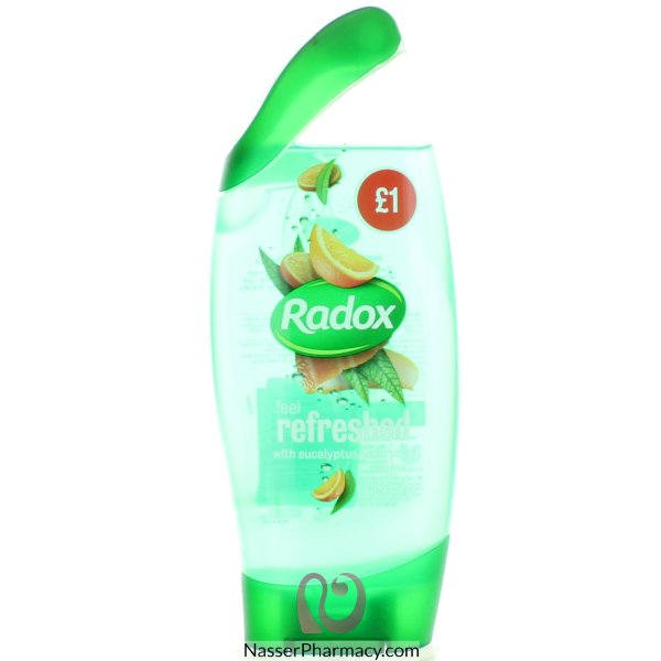 Radox S/gel Feel Refreshed Pmp 250ml-62937