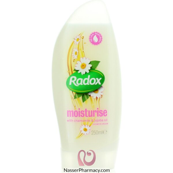 Radox Shower Cream Feel Moisturise 250ml