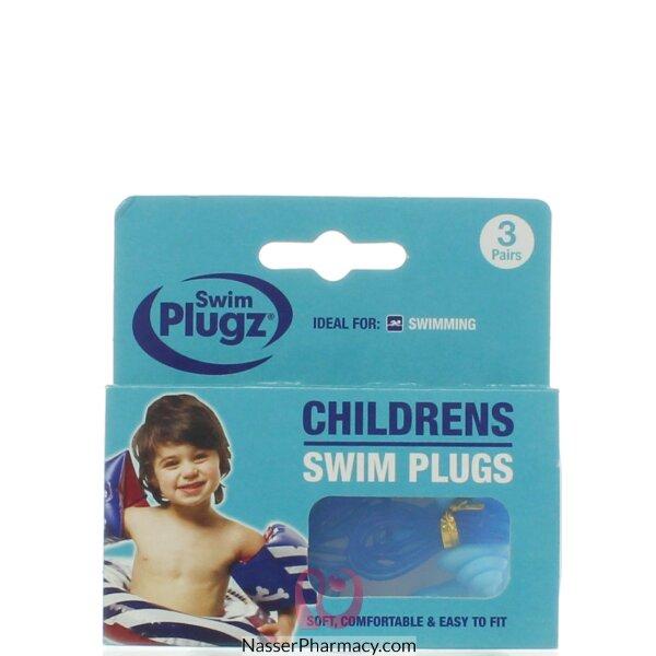 سدادات الأذن للأطفال للسباحة - 6 قطع