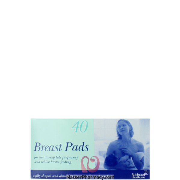 Robinson (e) Shaped Breast Pads 40s-2687