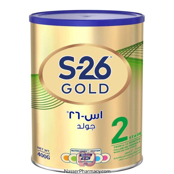 Promil Gold S26   Stage 2 ( 6 - 12 Months ) Infant Milk 400 Gram