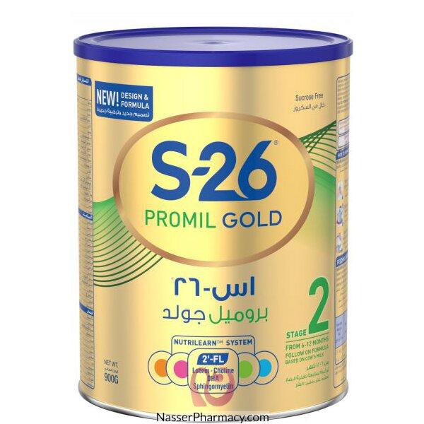 Promil Gold S26   Stage 2 ( 6 - 12 Months ) Infant Milk 900 Gram