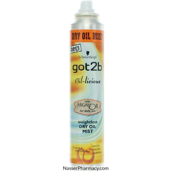 Got2b Rise N Shine Oil Mist 200ml-52640