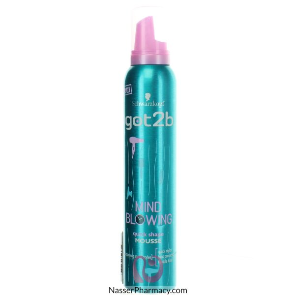Schwarzkopf  Got2b Mind Blow Quick Mousse 200ml